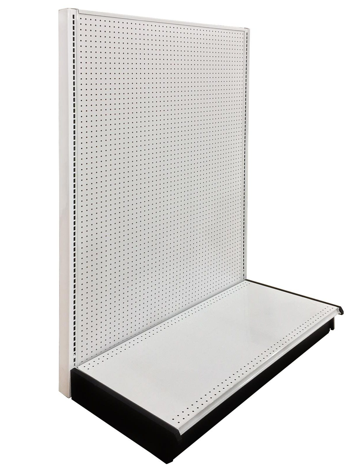 Wall Unit Starter 48 Length 54 Height 22 Base Depth Pegboard Backing White